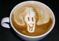 I wish I could froth my own latte!