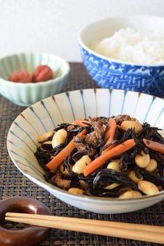 和食の基本でもあるひじき煮ですが、こちらのレシピではなんとお砂糖を使っていないんです!毎日食べるものですから、甘味のない素材の美味しさを堪能できるレシピを知っておくのは大切なことです。