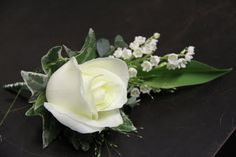 Lily of the Valley and Avalanche Rose. Flower Design Buttonhole & Corsage Blog: May 2011