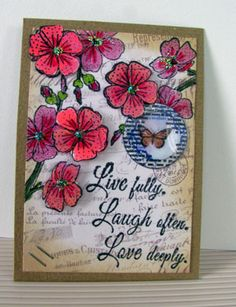 Live Fully! ATC for May Challenge