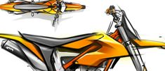 For over 20 years KISKA has played a fundamental role in KTM's evolution into the READY TO RACE brand and Europe's largest motorcycle manufacturer. Bike Sketch, Bike Drawing, Motorbike Design, Dual Sport, Bike Style, Bike Art, Transportation Design, Sketch Design, Motocross