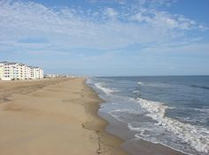 "SANDBRIDGE, VIRGINIA is a quiet, family orientated beach, Sandbridge Beach is located just south of the Virginia Beach resort area. Also known as the ""Outer Banks of Virginia."" Sandbridge has five miles of beautiful golden sands along the Atlantic Ocean."