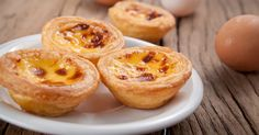 A traditional Portuguese treat, these custard tarts combine flaky pastry with a creamy custard centre for a mouthful of heaven.