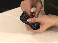Sim Sırma (Maraş İşi) 2/3 / Gold Embroidery - Ellerin Türküsü Kanal B - YouTube