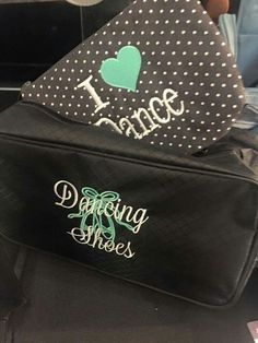 Dancing shoes! #ThirtyOneGifts #ThirtyOne #JewellByThirtyOne #JKbyThirtyOne  #Monogramming #Organization #Dance
