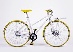 Vé Comfort edition Yellow via Buy the Vélosophy. Click on the image to see more! Bicycle Design, Bike, Orange, Purple, Classic, Stuff To Buy, Hotels, Flat, Veil