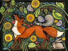 fox and grapes hi