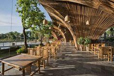 Restaurante Roc Von | Vo Trong Nghia Architects - Hanoi, Vietnã