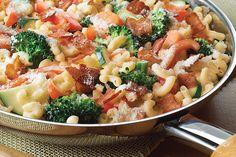 Chicken, Bacon & Tomato Pasta