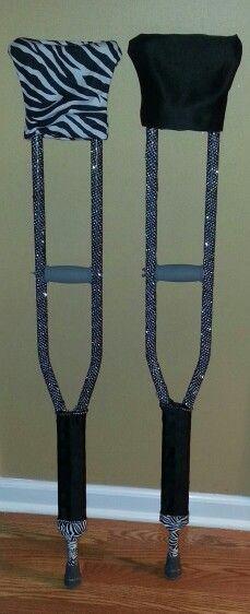 My crutches.