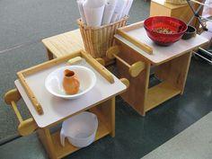 Montessori- Wash table
