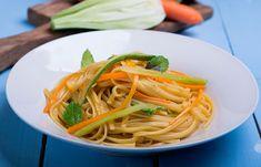 Linguine λαχανικών Linguine, Meals For The Week, Meal Planning, Spaghetti, Ethnic Recipes, Food, Essen, Meals, Yemek