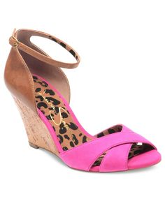 Jessica Simpson Shoes, Nuto Wedge Sandals - Shoes - Macys buying these, yay!!!