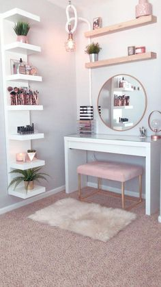 dream rooms for adults ; dream rooms for women ; dream rooms for couples ; dream rooms for adults bedrooms ; dream rooms for girls teenagers Bedroom Decor For Teen Girls, Room Ideas Bedroom, Bed Room, Dorm Room, Bedroom Themes, Adult Bedroom Ideas, Girls Bedroom Ideas Teenagers, Bedroom Kids, Girl Bedroom Designs