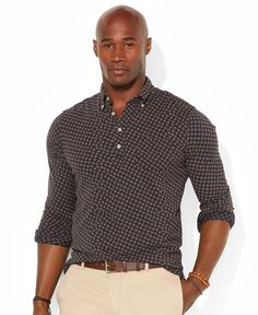 Polo Ralph Lauren Big and Tall Printed Popover