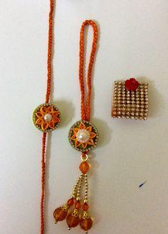Quilling Rakhi, Rakhi Making, Rakhi Design, Bristol Board, Pens, Creativity, Collections, Indian, Pendant Necklace