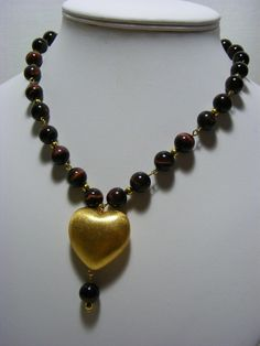 Tiger's Eye Gemstone Necklace £25.00