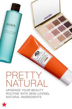 There's nothing your skin loves more than natural ingredients, so be sure to stock your beauty bag with a few of our favorite natural and organic products. From skincare essentials to must-have makeup, ingredients like Amazonian Clay, botantic extracts and citrus keep your skin looking and feeling its best. Click to shop at Macy's.
