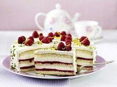 Himbeer-Smoothie-Torte mit Zitronencreme Rezept - Chefkoch-Rezepte auf LECKER.de   Kochen, Backen und schnelle Gerichte
