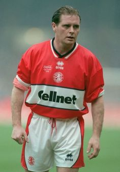 Paul Gascoigne of Middlesbrough in 1998.