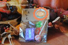 Fall Harvest Party Favor