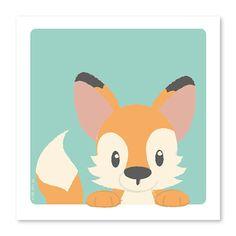 Poster Vos 21 x 21 cm Je zou het zo niet zeggen, maar van de bosdierenvriendjes heeft het vosje de meeste streken. Toch kijkt hij je heel onschuldig aan met z'n schattige snoetje, om in te lijsten! Ook leuk om op te hangen met een A4 posterhouder of op een klembord.