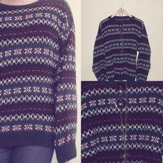 Vintage Sweater #fashion