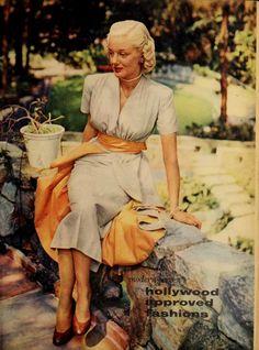 Jan Sterling. Modern Screen, 1952.