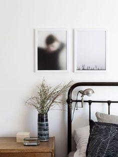 Le lit en fer forgé à quelque chose de très romantique mais pas que. Il se marie à la perfection avec le style industriel, bohème et même ethnique.