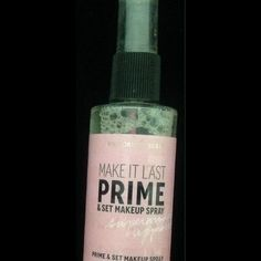 Makeup setting spray from Victoria secret It's full I used it twice Victoria secret Makeup
