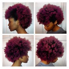 Afro Hairstyles - Natural Notts I've always wanted to go this colour! Natural Hair Journey, Natural Hair Care, Natural Hair Styles, Natural Mohawk, Au Natural, Natural Women, Natural Curls, Natural Beauty, Natural Afro Hairstyles