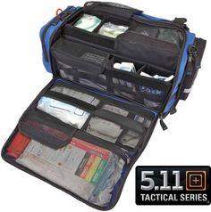 5.11 Tactical EMT First Responder Basic Life Support 2000 Custom EMS Medic Bag