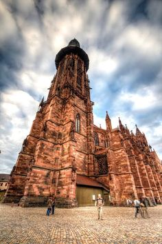 The Munster! Gorgeous gothic cathedral in Freiburg, Germany