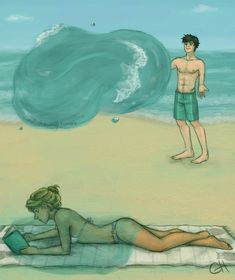 NOT ON THE BOOK, SHE'LL KILL YOU<<<<he should make an air bubble thing around the book so that she won't get too mad