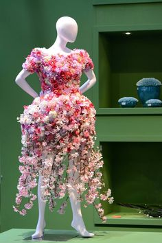 A Flower Girl Dress Made With Real flower  (17)