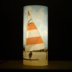 Retro Yacht Lamp by Two Layers Of Cells