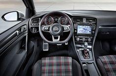 MUY FAN: Volkswagen Golf GTI. Interior.