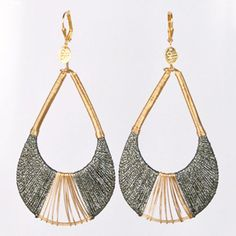 Joss Earl Grey Earrings