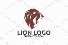Lion Logo by Brandlogo on @creativemarket