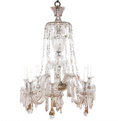 171 best l i g h t lighting fixtures images on pinterest antique crystal chandelier waterford crystal chandelier aloadofball Images