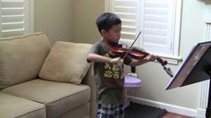 practicing; Oskar Rieding (1840-1918) Violin concerto in B minor Opus 35 Movement 3 : Allegretto Moderato—See more of young violinist #son_from_vivlum