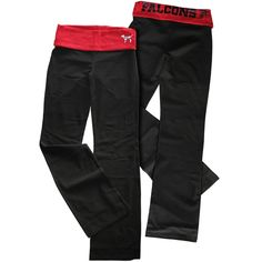 Atlanta Falcons VS PINK Yoga Pants Falcons Rise Up, Pink Yoga Pants, Atlanta Falcons, Vs Pink, Dress To Impress, Parachute Pants, Fashion Beauty, Cute Outfits, Hoodies