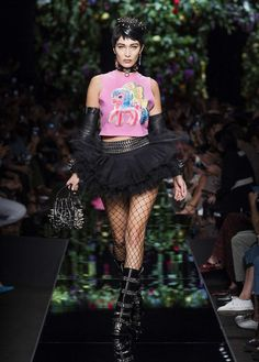 Moschino Spring/Summer 2018 fashion show - see more on www.moschino.com
