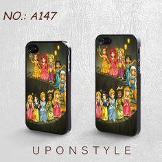iPhone 4 Case, iPhone 4s Case, iPhone 5 Case, Disney Princess, Plastic Phone Cases, Case for iphone, Case No-147 on Etsy, $8.99