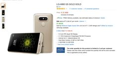 Big BIllion Days Diwali Sale Offer on LG G5 on FLipkart and Amazon India. Current Lowest price : Rs 37,999 on Amazon.in ( Oct 3 ). Rs 15,999 Discount from MRP.