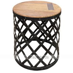 Smithy Side Table l Accent Tables l Eco Chic End Tables & Stools