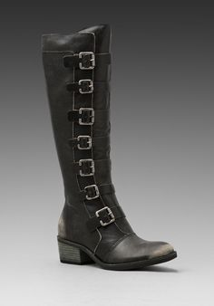 Matisse Pepper Boot in Black (distress black)