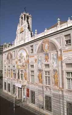 Palazzo San Giorgio, Genova, Liguria - © Paolo Picciotto