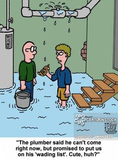Puns funny cartoons from CartoonStock directory - the world's largest on-line collection of cartoons and comics. Enzyme Cleaner, Drain Cleaner, Funny Puns, Funny Cartoons, Funny Shit, Funny Stuff, Funny Quotes, Hilarious, Diy Projects Gone Wrong