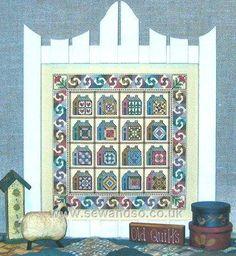 Garden Gate Quilts V Chart Pack